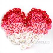 Сердце из роз с конфетами Огромное