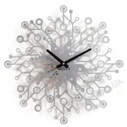 Настенные часы металлические Галактика 50 см
