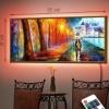 Картина с диодной подсветкой Вечер вдвоем