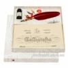 Набор для каллиграфии La Kaligrafica 7307 бордовое перо