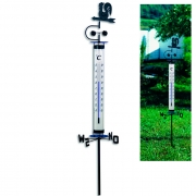 Термометр садовый с флюгером TFA 122035