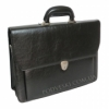 Портфель мужской кожзам 4U Cavaldi B027C2 черный