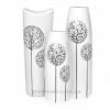 Керамические вазы набор 3 шт Eterna Tree White
