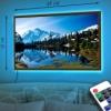Картина с LED-подсветкой Снежные горы